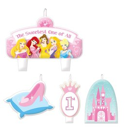 Amscan Disney Princess Birthday Candle Set