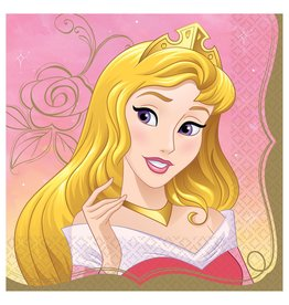 Amscan Disney Princess Aurora Lun. Napkins - 16ct.