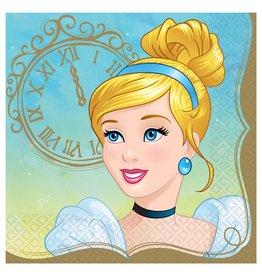 Amscan Disney Princess Cinderella Lun. Napkins - 16ct.