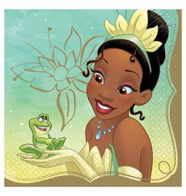 Amscan Disney Princess Tiana Lun. Napkins - 16ct.