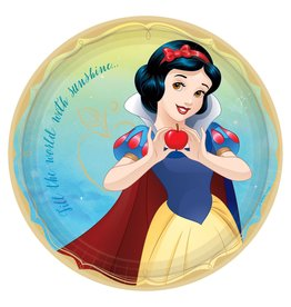 "Amscan Disney Princess Snow White 9"" Plates - 8ct."