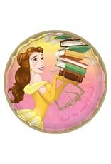 "Amscan Disney Princess Belle 9"" Plates - 8ct."