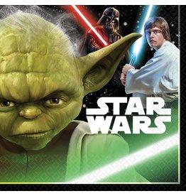 Amscan Star Wars Classic Lun. Napkins - 16ct.