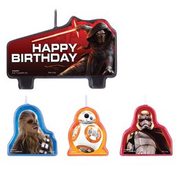 Amscan Star Wars Ep. 7 Candle Set