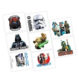 Amscan Star Wars Classic Tattoos - 8ct.