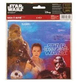 Amscan Star Wars Ep. 7 Loot Bags - 8ct.