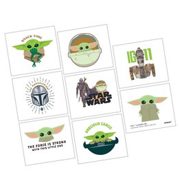 Amscan Star Wars The Mandalorian Tattoos - 8ct.