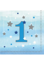 Party Creations One Little Star - Boy Lunch Napkins - 16ct.