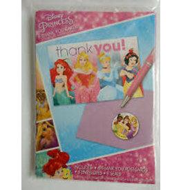 Amscan Disney Princess Thankyous - 8ct.