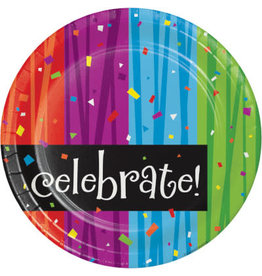 "creative converting Milestone Celebrations 7"" Plates - 8ct."