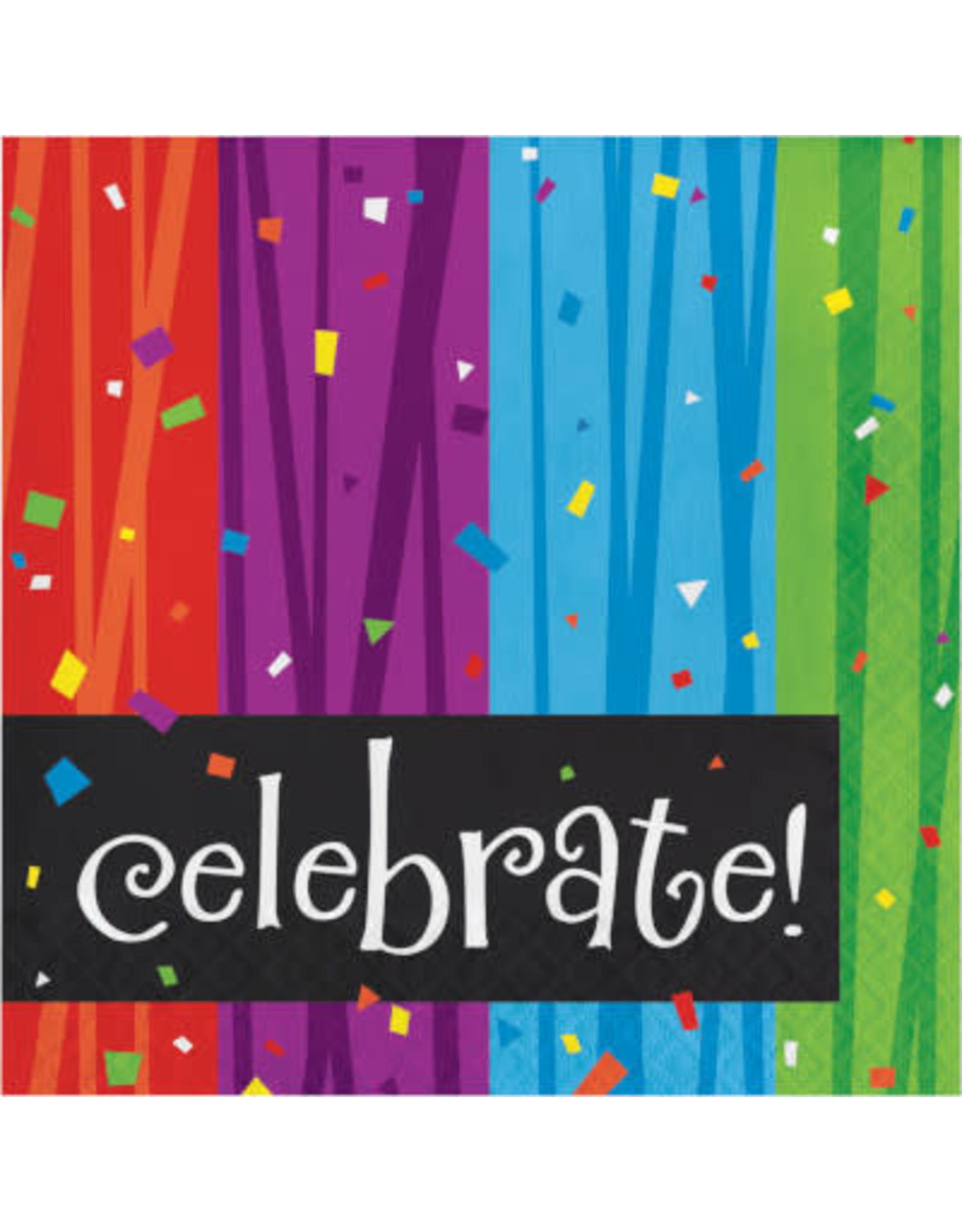 creative converting Milestone Celebrations Lunch Napkins - 16ct.