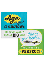 creative converting Age Humor - Just a Number Bev. Napkins - 16ct.