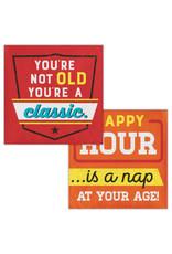 creative converting Age Humor - Classic Bev. Napkins - 16ct.