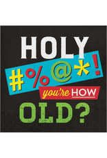creative converting Age Humor - How Old? Lun. Napkins - 16ct.