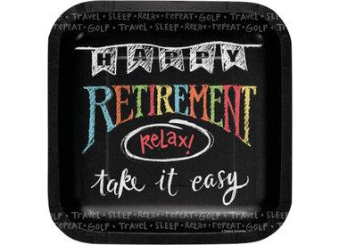 Retirement Chalk