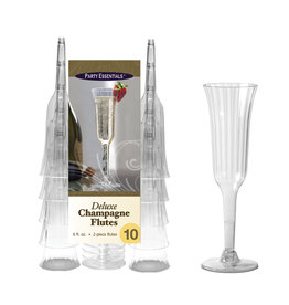 northwest 6oz. Deluxe 2pc. Champagne Flutes - 10ct.
