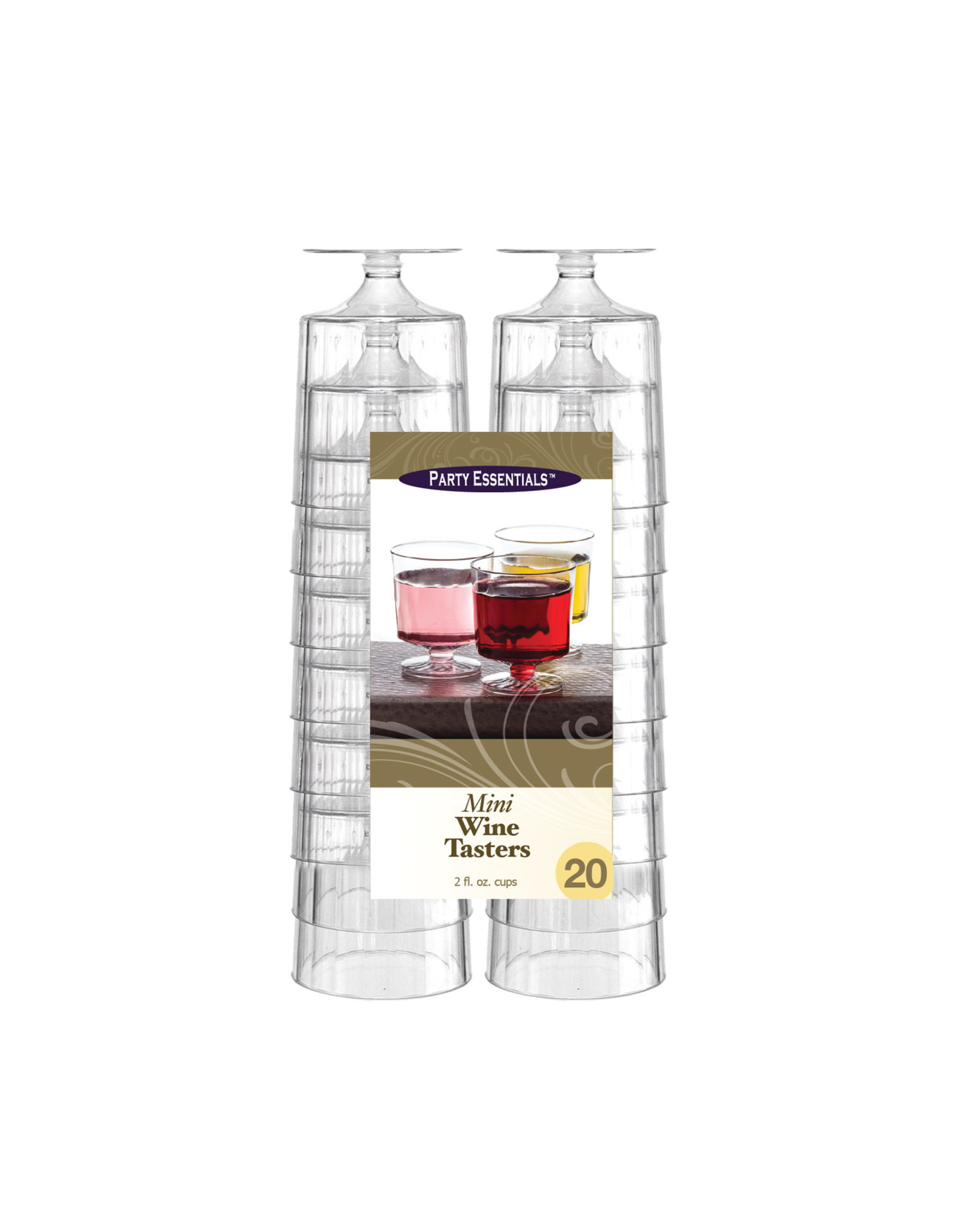 Party Essentials 2oz. Mini Wine Tasters - 20ct.