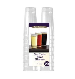 Party Essentials 3oz Beer Tasters Clear - 20ct.