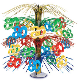 Beistle 80th Cascade Centerpiece MC