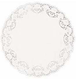 "Amscan White 4"" Doilies - 48ct."