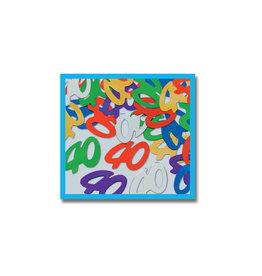 Beistle 40th Multi-Color Confetti