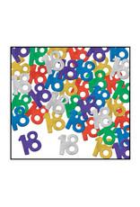 Beistle 18th Birthday Confetti - 0.5oz.