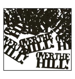 Beistle Black Over The Hill Confetti - 0.5oz