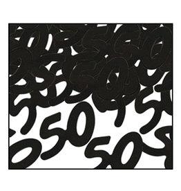 Beistle Black 50 Confetti - 0.5oz