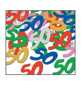 Beistle Multi-Color 50 Confetti - 0.5oz