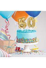 creative converting 50th Balloon Cake topper