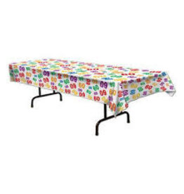 Beistle 60th Birthday Tablecover