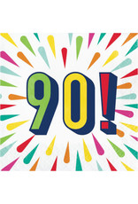 creative converting Birthday Burst 90th Lun. Napkins - 16ct.