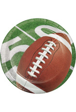 """creative converting Football Party 7"""" Plates - 8ct."""