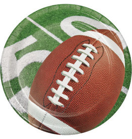 "creative converting Football Party 7"" Plates - 8ct."