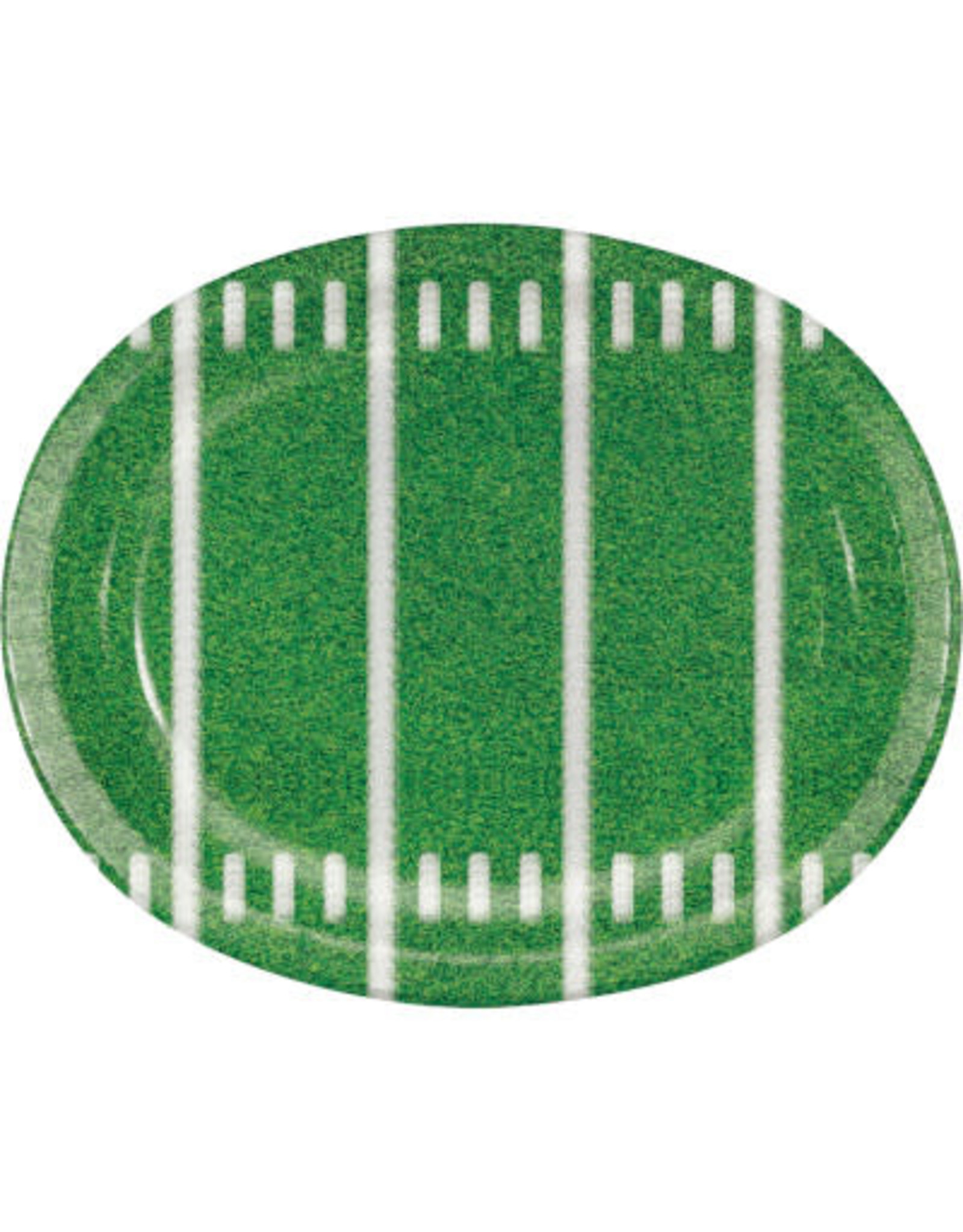 creative converting Game Time Oval Platters - 8ct.