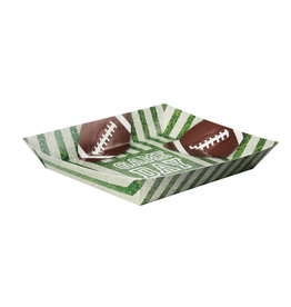 unique Football Snack Tray - 1ct.