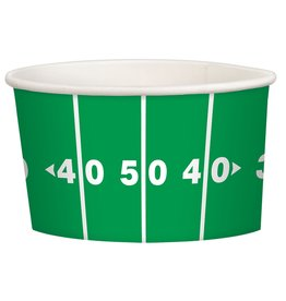 Amscan Football Snack Cups - 8ct.