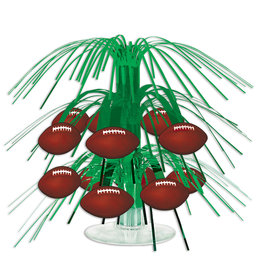 Beistle Football Mini Cascade Centerpiece - 1ct.
