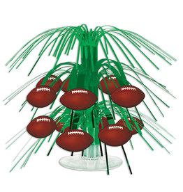 Beistle Football Mini Cascade Centerpiece - 1ct.