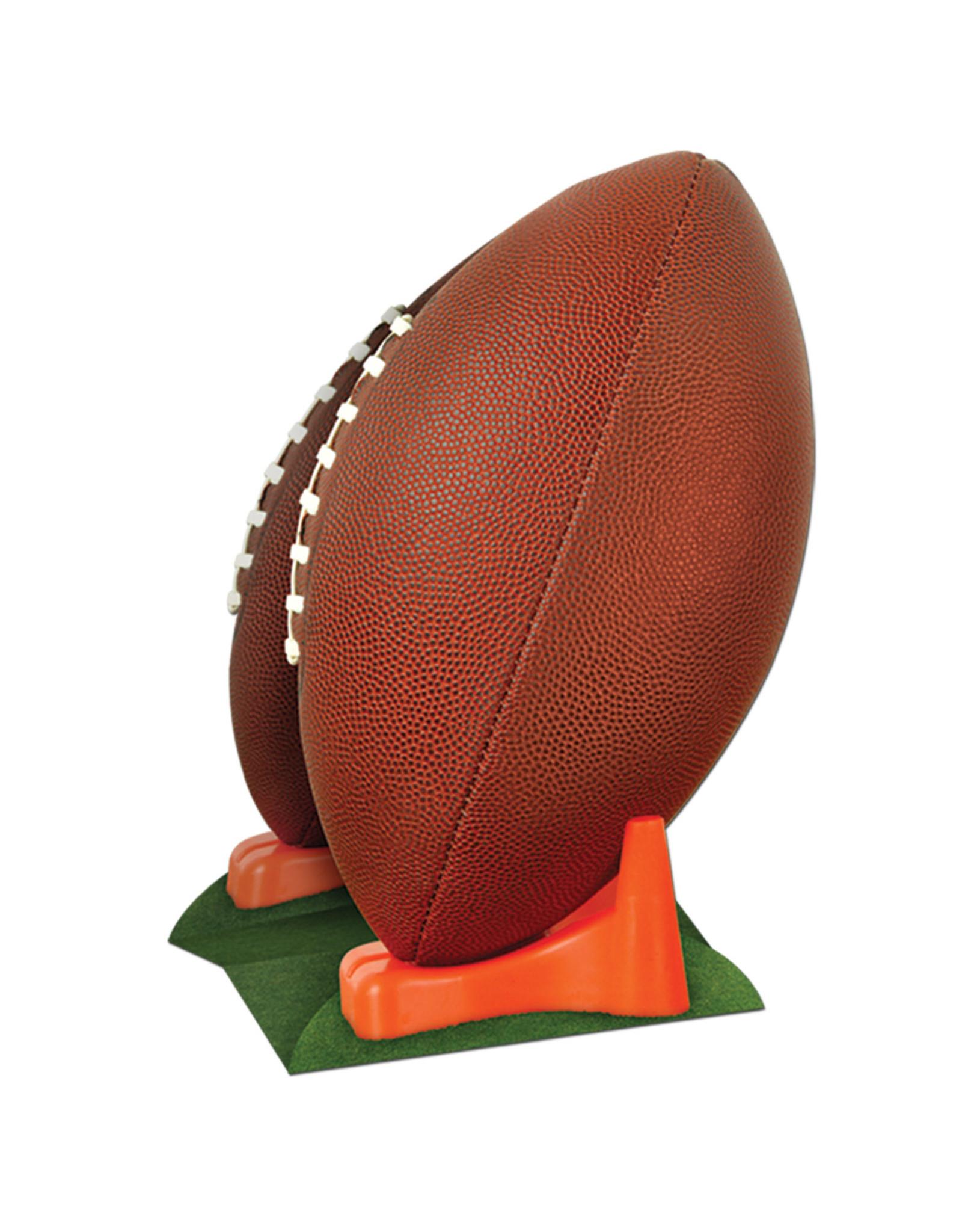 Beistle 3-D Football Centerpiece - 1ct.