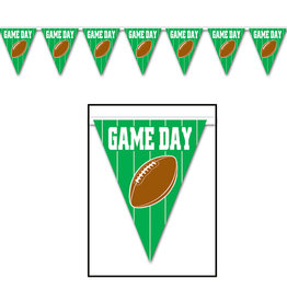 Beistle Game Day Football Banner - 12ft.