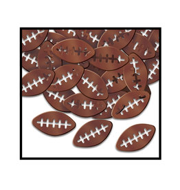 Beistle Football Confettit - 0.5oz