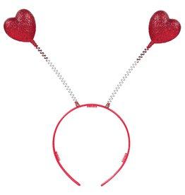 Amscan Red Glitter Heart Head Bopper