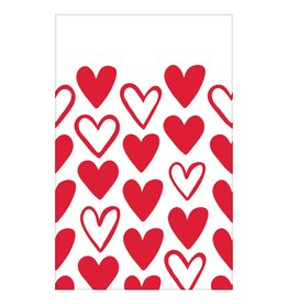 Amscan Heart Day Tablecover