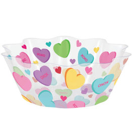 """creative converting Valentine  Icons 8"""" Fluted Bowl"""