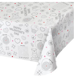 creative converting Kids Activity Valentine Tablecover