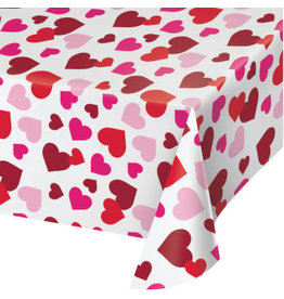 creative converting Hearts Tablecover