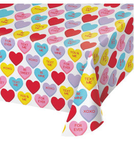 creative converting Candy Hearts Tablecover