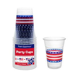 northwest 16oz. Patriotic Party Cups - 20ct.