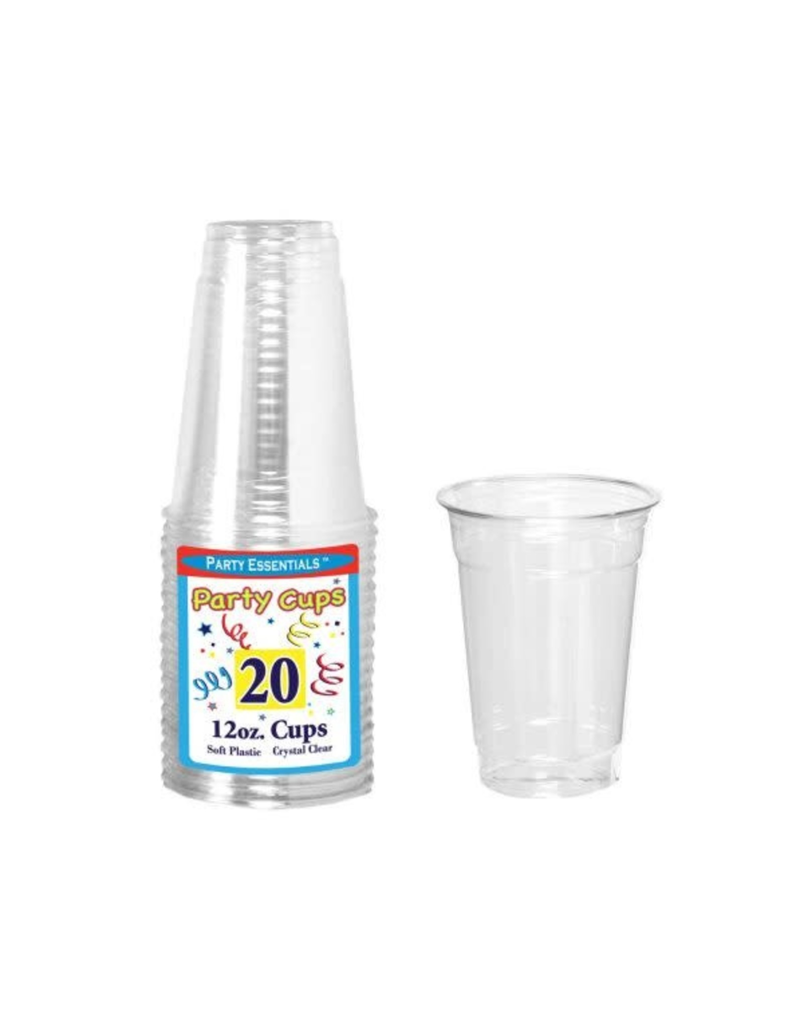 northwest 12 oz. Clear Party Cups - 20 Ct.